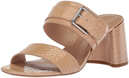 Lauren Ralph Lauren Women's FARIE-SN-CSL Heeled Sandal Straw 11 B US - Ralph Lauren Straw