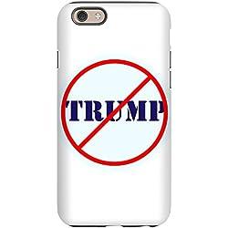CafePress - Anti Trump, No Trump Iphone 6 Tough Case - iPhone 6/6s Phone Case, Tough Phone Shell