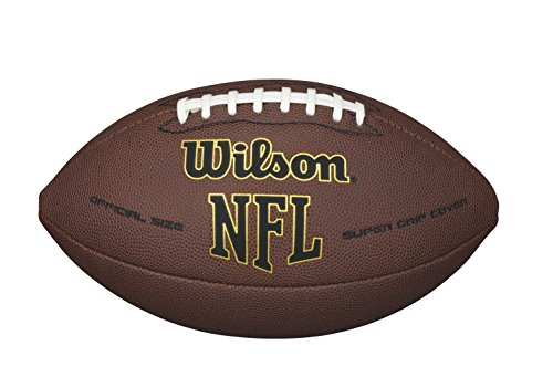 Wilson NFL Super Grip Official Football (Day Christmas Nfl Games)