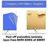 "Clear Acrylic Plexiglass Sheet 1/8"" Thick Cast"