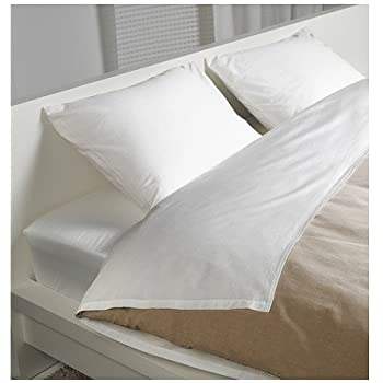 Ikea Gaspa Sheet Set  White Quenn. Amazon com  Ikea Dvala Sheet Set  Bright White Queen Gotton  Home