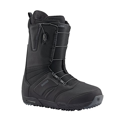 Mens Wide Snowboards (Burton Ruler Snowboard Boot 2016 - Men's Black 10)