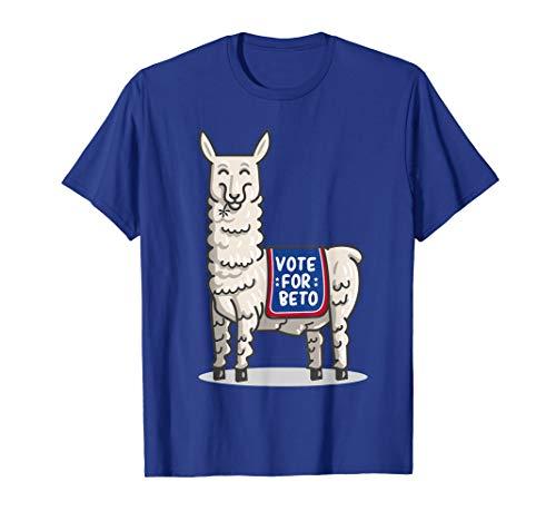 Vote For Beto Senate Midterm election cute Kids Llama Shirt