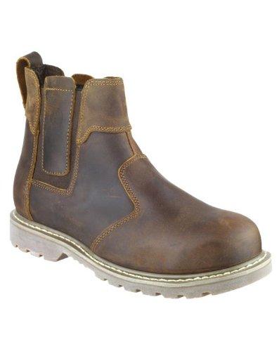 Amblers Steel FS165sécurité pour homme New Dealers Bottes en cuir pour homme à enfiler Chaussures