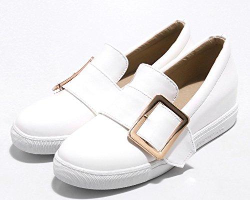 on Confortable Boucle Slip Talon Sneakers Compensé Femme Easemax 1X4xfqOf