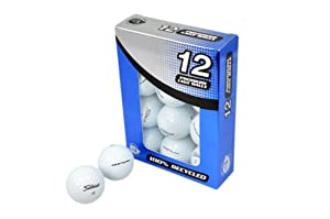Second Chance Golfbälle 12 Titleist Nxt Tour Lake A-Qualität, weiß,...