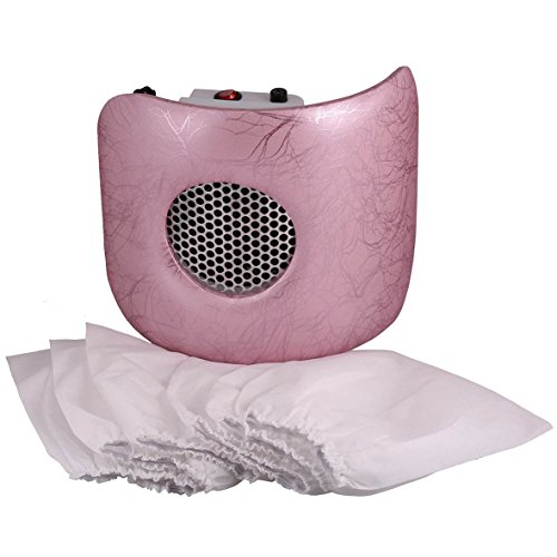 Miss Sweet Nail Dust Collector Vacuum for Polish Acrylic Nails (Pink P)