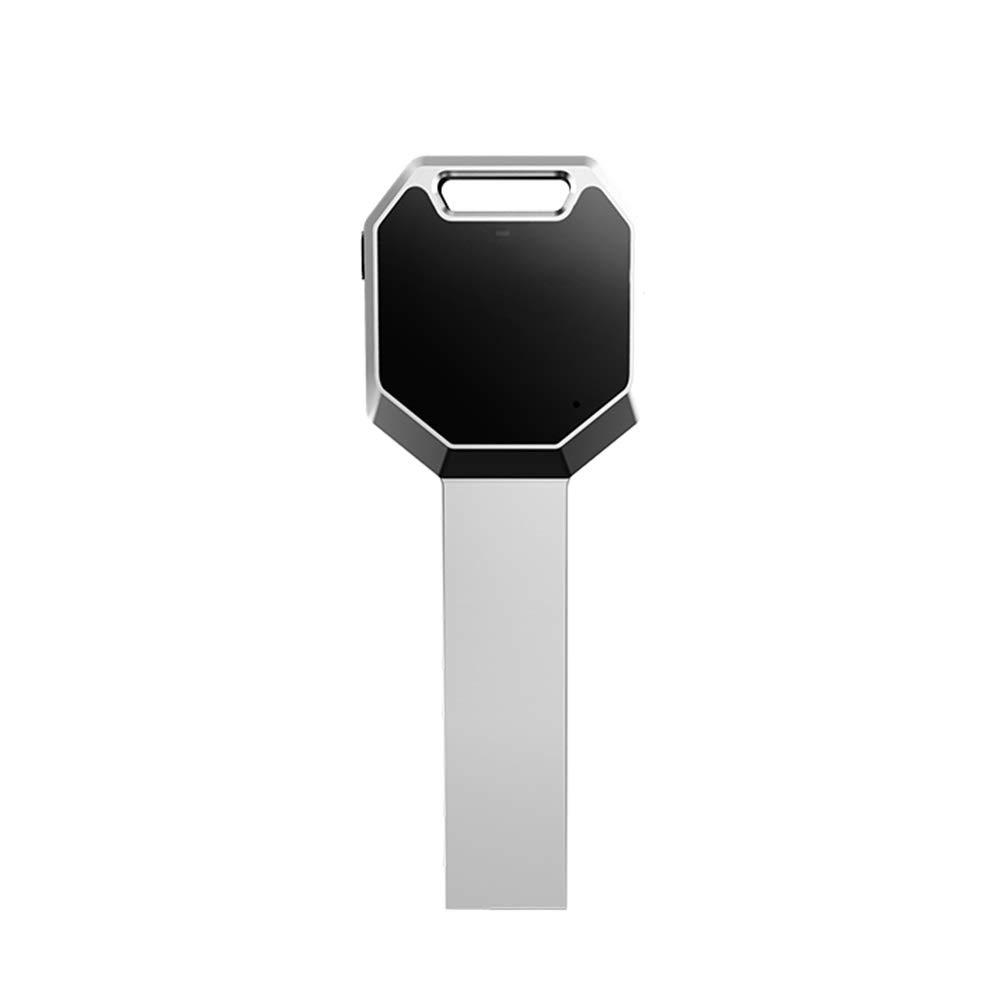 プロフェッショナルボイスレコーダー、キーシェイプミニMP3プレーヤーUSB充電式インテリジェントサウンドコントロールレコーディング (色 : 32GB) B07QWVX5NS 32GB