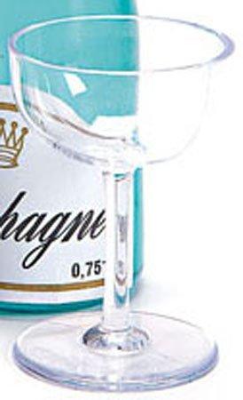 Mini Plastic Champagne Glass For Cakes Amazoncouk Kitchen Home
