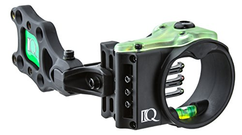 Carbon Express Field Logic IQ Ultralite 5 Pin Bow Sight, Right ()