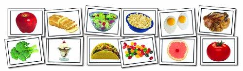 (Carson Dellosa Key Education Nouns: Food Learning Cards)