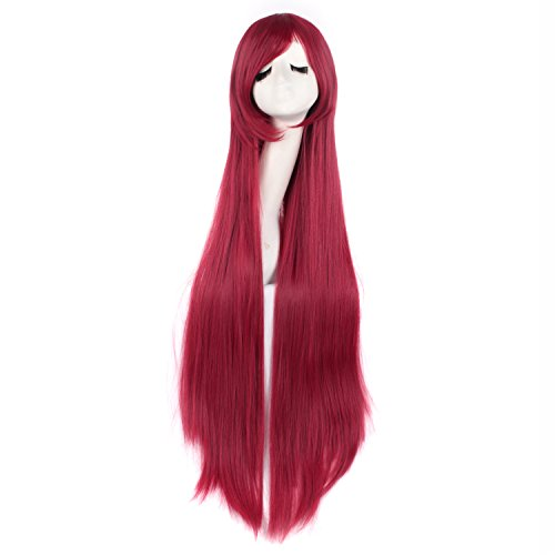 100 cm red wig - 2