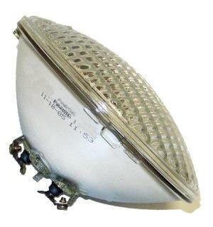 GE Lighting 23427 300-watt 6000-Lumen PAR56 Light Bulb with Screw Terminal Base, Soft White, 1-Pack