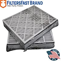 FiltersFast Compatible Replacement for Trion 20 x 25 x 5 (Actual Size: 19-5/8 x 24-1/8 x 4-7/8) 255649-102 Air Filter - MERV 8 2-Pack