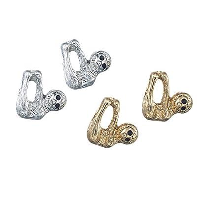 Silver Sloth Earrings - Jewelry