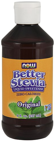 NOW Foods BetterStevia Liquid,8-Ounce (Sugar Free Liquid)