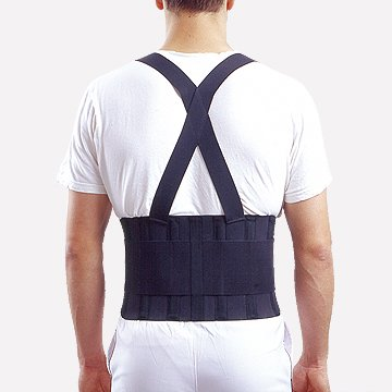 Therapist's Choice® Industrial Double Pull Back Support with Shoulder Straps (Small (25
