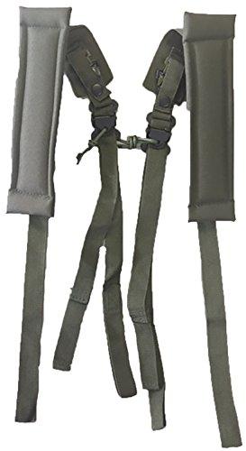 (Mafoose GI Spec LC-2 Shoulder Straps Olive Drab)
