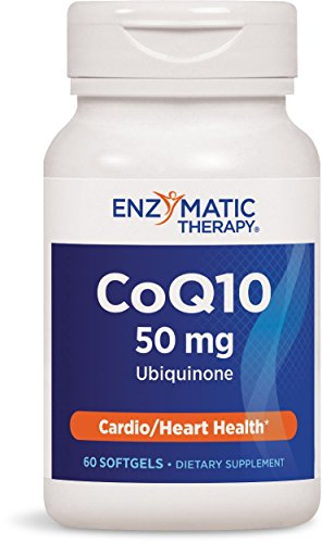 Enzymatic Therapy Coq10  50 Mg, 60 Softgels