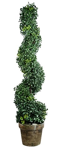 Home Artificial Boxwood Spiral 35 Inch product image