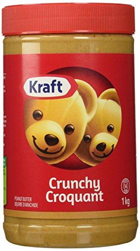 Kraft Peanut Butter (Crunchy Peanut Butter, 1 KG) (Peanut Butter Kraft Smooth)