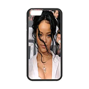 DIY Stylish Printing Rihanna Cover Custom Case For iPhone 6 Plus 5.5 Inch MK2H3008