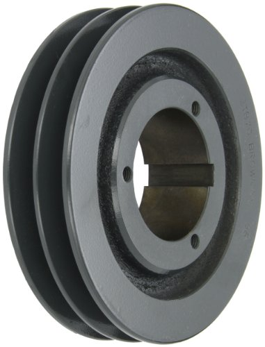 Browning 2TB70 Split Taper Sheave, Cast Iron, 2 Groove, A or B Belt, Uses Q1 Bushing -