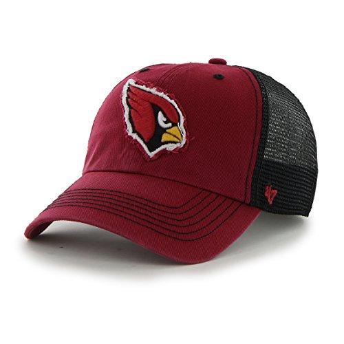 Arizona Cardinals 47 Brand Red Black Taylor Closer Mesh Flex