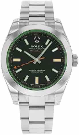 NEW Rolex Milgauss Stainless Steel Mens watch 116400 VBKO