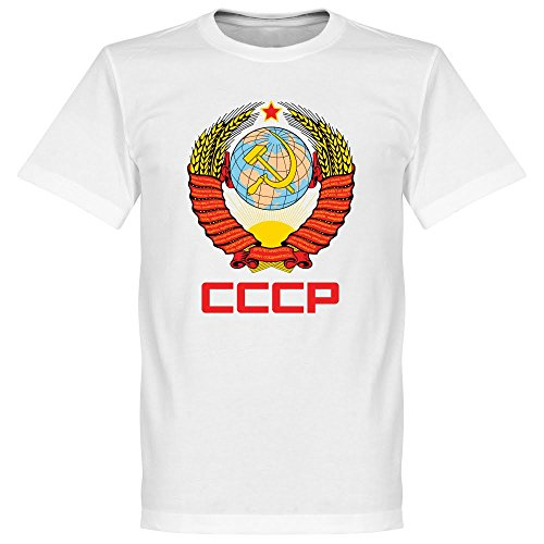 Price comparison product image Retake CCCP Crest Tee - White - XXXL