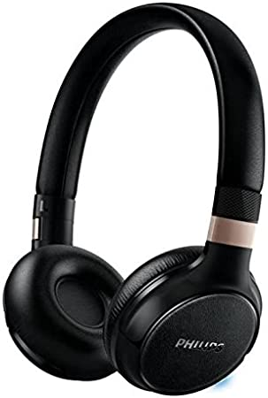 Philips SHB9350/00 - Auriculares (Alámbrico, Diadema, Binaural, Supraaural, 8-23500 Hz, Negro)