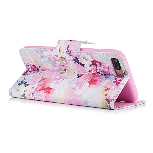 shock And magnetic 7 Premium Plus Pu Purse Closure 8 Leather Absorption Colorful Painting Case Flip Iphone card Pattern Slots Wi Smartphone 7 Case Katech Shell Wallet Protective Cover q8Ex7Zd