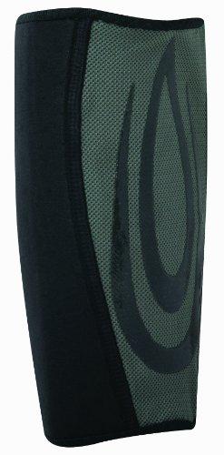 (Nike Vented Neoprene Sleeve II (Black/Grey, Medium))