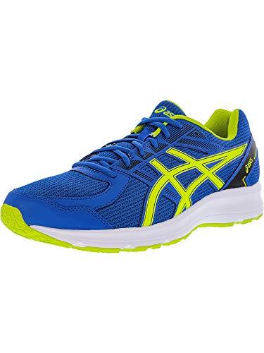 Hombres Para Correr black Blue Zapatos Asics Cordon neon Medios Talla Classic Jolt Lime Bajos amp; SWw0dUq