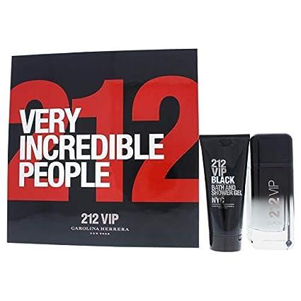 Carolina herrera 212 vip black edp 100 ml + s/gel 100 ml set ...