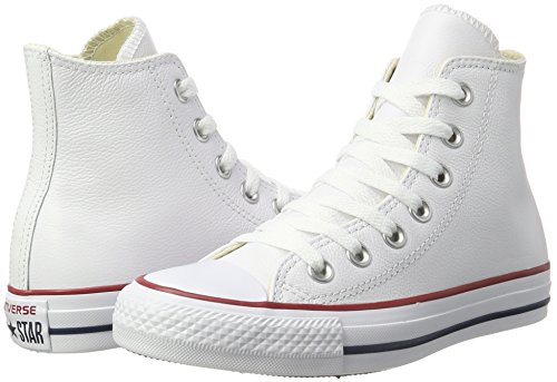 discount codes really cheap Converse Men's All Star Hi Leather Unisex Adults' Outdoor Sports Shoes White outlet sneakernews buy cheap outlet xuwDvA