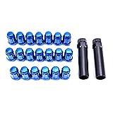 Catinbow 12x1.5 Blue Forged Spline Tuner Lug Nuts