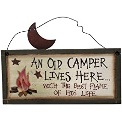 Ohio Wholesale Camper's Best Flame Sign