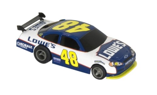 Nascar Slot Car Racing (Life-Like Lowe's #48 Fast Tracker NASCAR Slot Car)