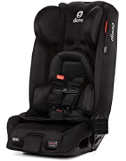 Diono 2020 Radian 3RXT, 4-in-1 Convertible, Extended Rear Facing, 10 Years 1 Car Seat, Fits 3 Across, Slim Fit Design, Black Jet