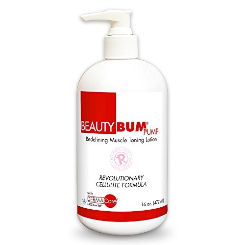 - BeautyFit BeautyBum Anti Cellulite Cream Toning Lotion, Anti-Fat Formula for Women, Original Scent, 16.0 Ounce Pump