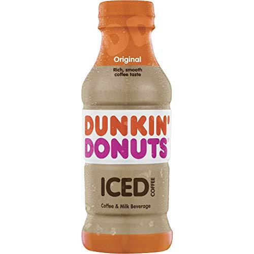 Dunkin Donuts Original Iced Coffee Bottle, 13.7 fl oz