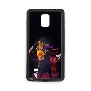 The NBA star Kobe Bryant for SamSung Galaxy Note4 Black Case Hardcore-9