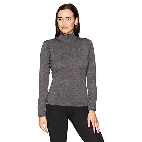 - Minus33 Merino Wool Women's Liberty Lightweight 1/4 Zip, Charcoal, XX-Large