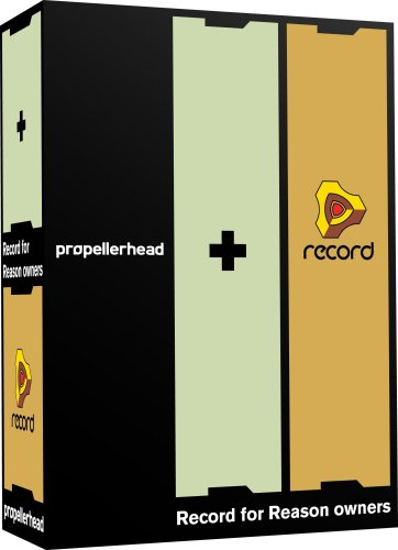 Propellerhead Record (Propellerhead Record (for Reason Owners) Software Recording Studio for Musicians)