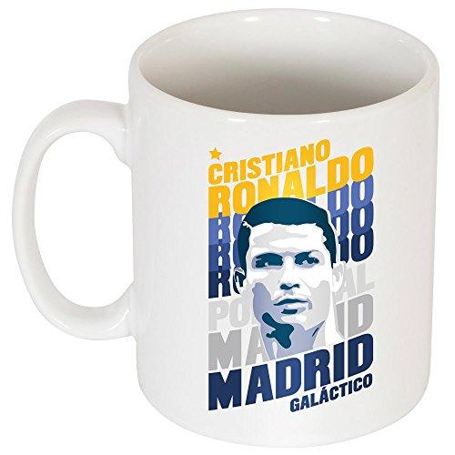 Retake Ronaldo Madrid Portrait tazza