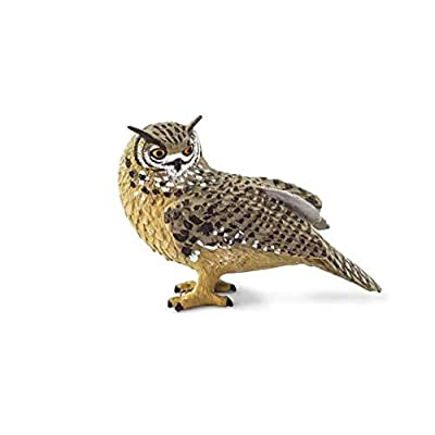 Safari Ltd. - Wings of The World - Eagle Owl: Toys & Games