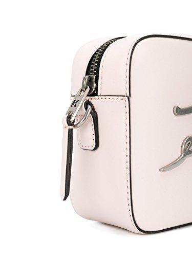 Karl Lagerfeld 81KW3050546 Rosa Mujer De Bolso Hombro Cuero O1OCqg