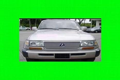 Amazon com: 312 Motoring fits 1995-1997 LEXUS LX450 CHROME GRILL