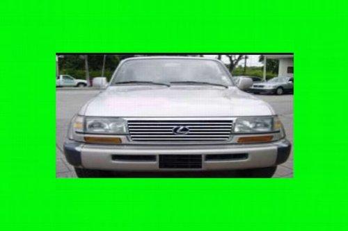 312 MOTORING fits 1995-1997 LEXUS LX450 CHROME GRILL GRILLE KIT 1996 95 96 97 LX 450